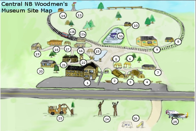 Museum Site Map
