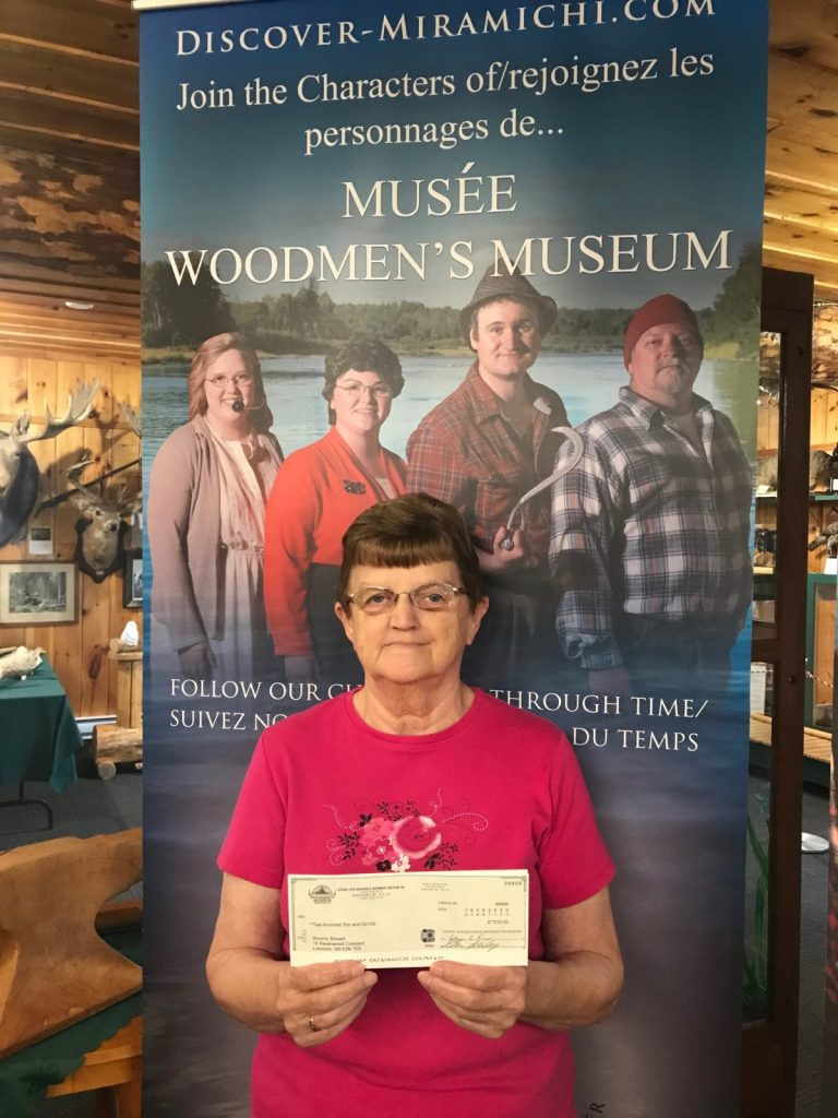 Bev Steward - August 15th - $210 (Received by Olga Ross)